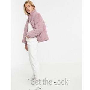 ASOS Style Corduroy Oversized Puffer Jacket